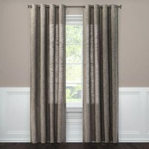 4 Weave Textured Curtain Panels